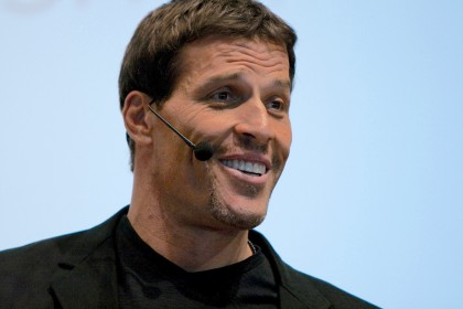 tony robbins speed reading advocate