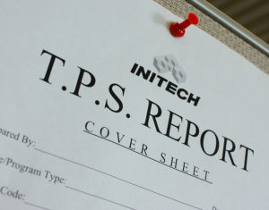TPS reports cover sheet