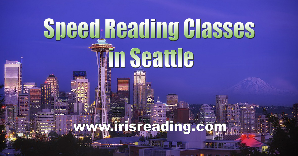 Speed Reading Classes in Seattle