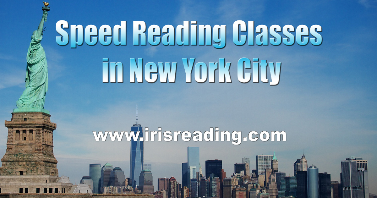 Speed Reading Classes in New York
